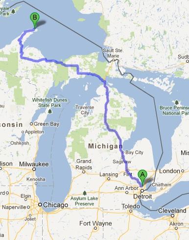 Isle Royale Itinerary